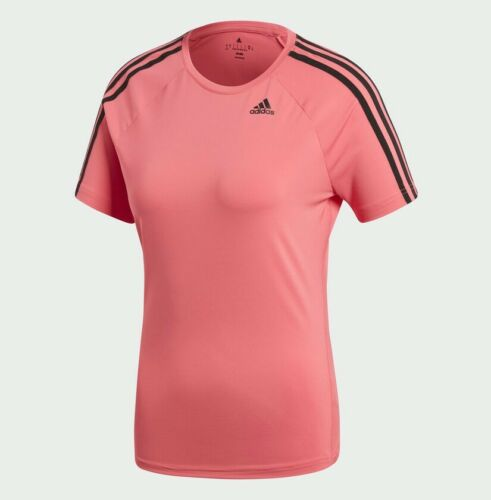 Rrp mujer Camiseta corta D2m de manga para Stripe Adidas 78 3 95 wTq17z6wx