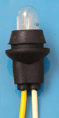 Sidelight / Pilot / Parking Light Bulb Holder  12volt