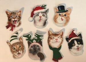 The-Cutest-Little-Christmas-Kitties-Iron-On-Fabric-Appliques-Christmas