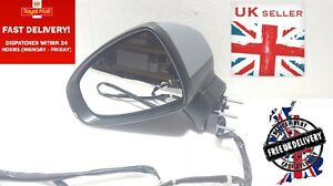 AUDI A1 2010-2015 Left Passenger Side Door Wing Mirror Electric Com pleat