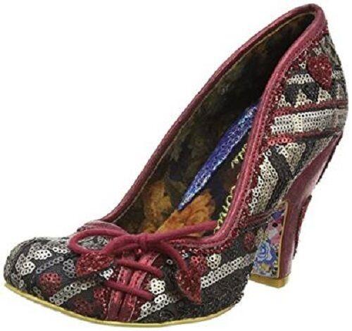 Donna Irregular Choice ELASTICA Lexi rosso scarpe scarpe scarpe décolleté donna tacchi alti 5cce7f