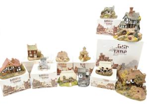 Lote-de-11-Lilliput-Lane-Vintage-Misc-casas-rurales-casas-con-cajas