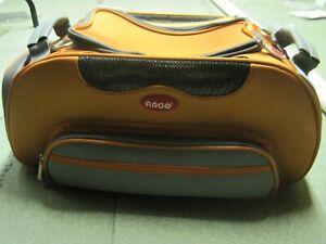 Teafco Argo - Transporteur de chat ou de chat pour animaux de compagnie, orange et gris