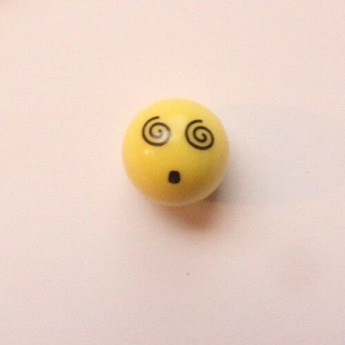 2pcs 1 Pair Smiley Face Cute Yellow Round Valve Caps Bicycle Bike Car Wheel Tyre