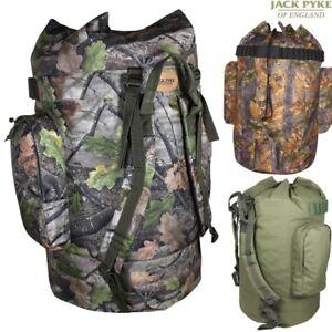 Jack Pyke 120 Litre Decoy Bag Hunters Rucksack English Oak Green Wildlands Camo Other Hunting Accessories Hunting