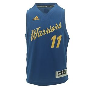 official photos 00d93 9cfd9 Details about Golden State Warriors Youth Size Klay Thompson Adidas  Swingman Jersey +2