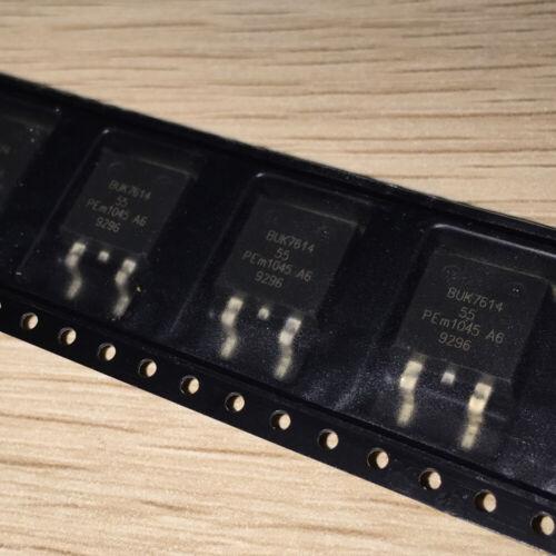 1 x BUK7614-55A 55V 73A 149W N-channel field-effect power transistor TO-263