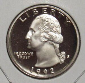 1992-S-Proof-Washington-Quarter