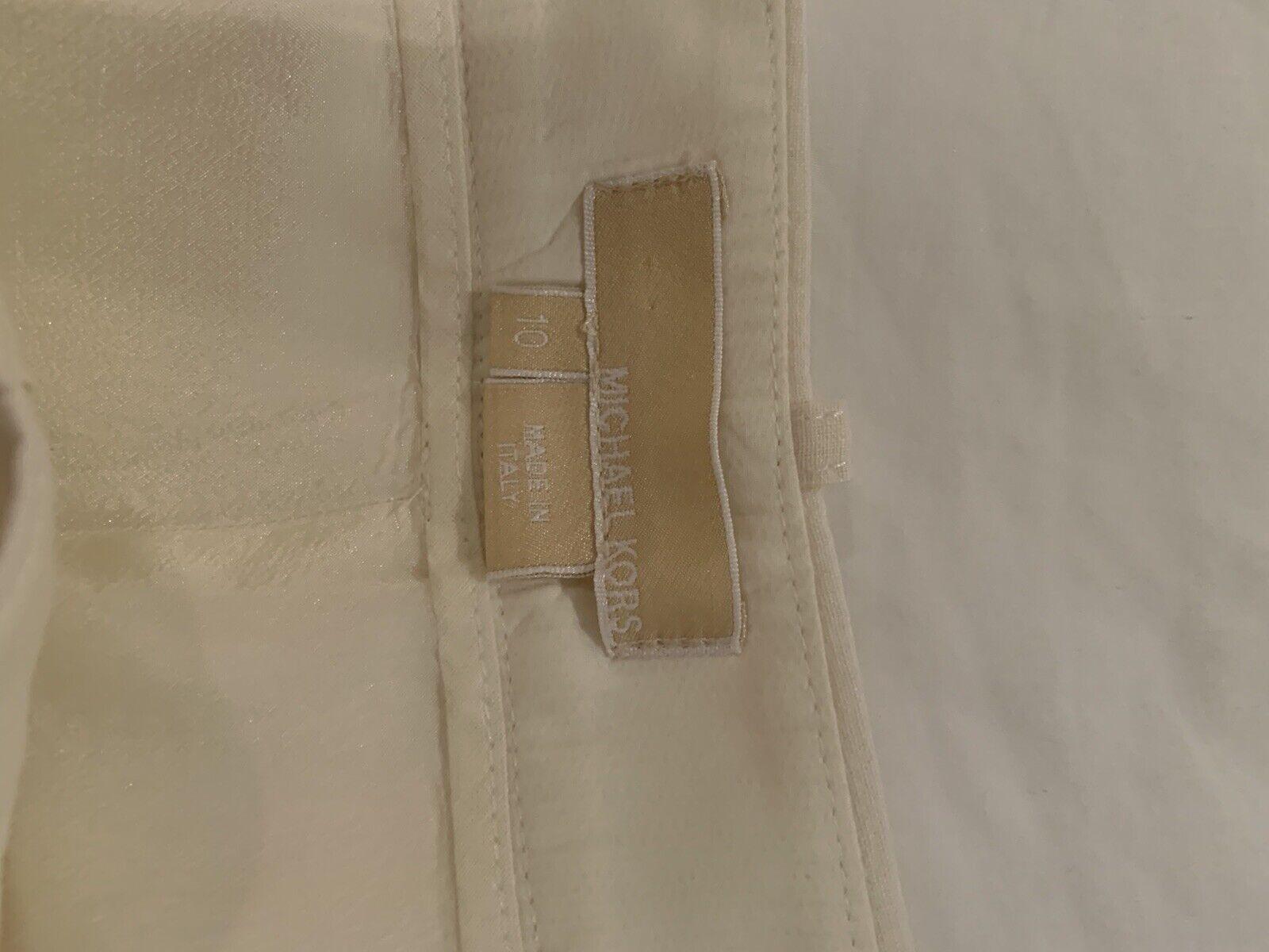 Cream Linen Michael Kors Suit - image 5