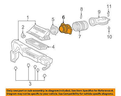 gm oem-mass air flow sensor 19332971 | ebay  ebay