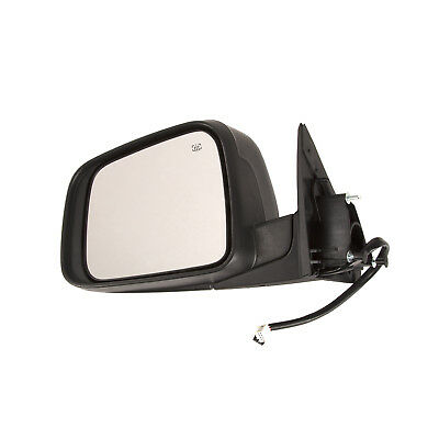 Exterior Power Mirror Black Smooth LH Driver Side for Jeep Cherokee SUV New