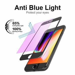 Anti-Bleu-Ray-Ecran-Protecteur-Reduire-Visual-Fatigue-3D-pour-iPhone7-Plus-Blanc