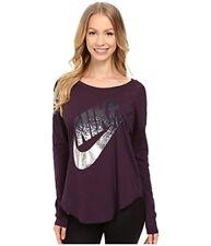 753a96e3f Nike Womens Signal Long Sleeve Metallic Tee (x- 1 for sale online | eBay
