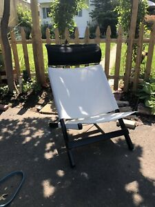 Ikea Canvas Seat Chair Foldable