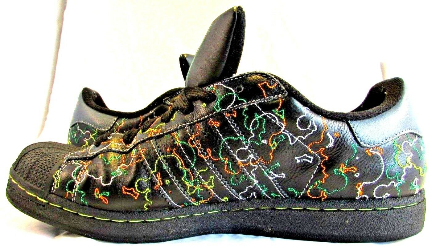 Adidas Tennis shoes PWI 001001 Art No. 031598 Size 12 Black W  colors 01 08