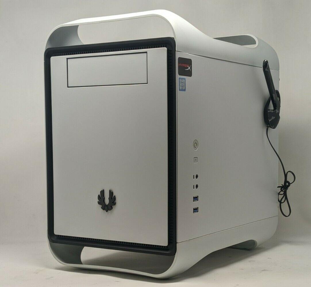 Mini-ITX Gaming PC Intel i7-6700K 4.0GHz RX 570 32GB RAM 480GB SSD 3TB HDD WiFi