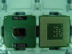 processore M Intel CPU per ASUS Z9200V 740 Centrino Pentium SL7SA HYYdqOx