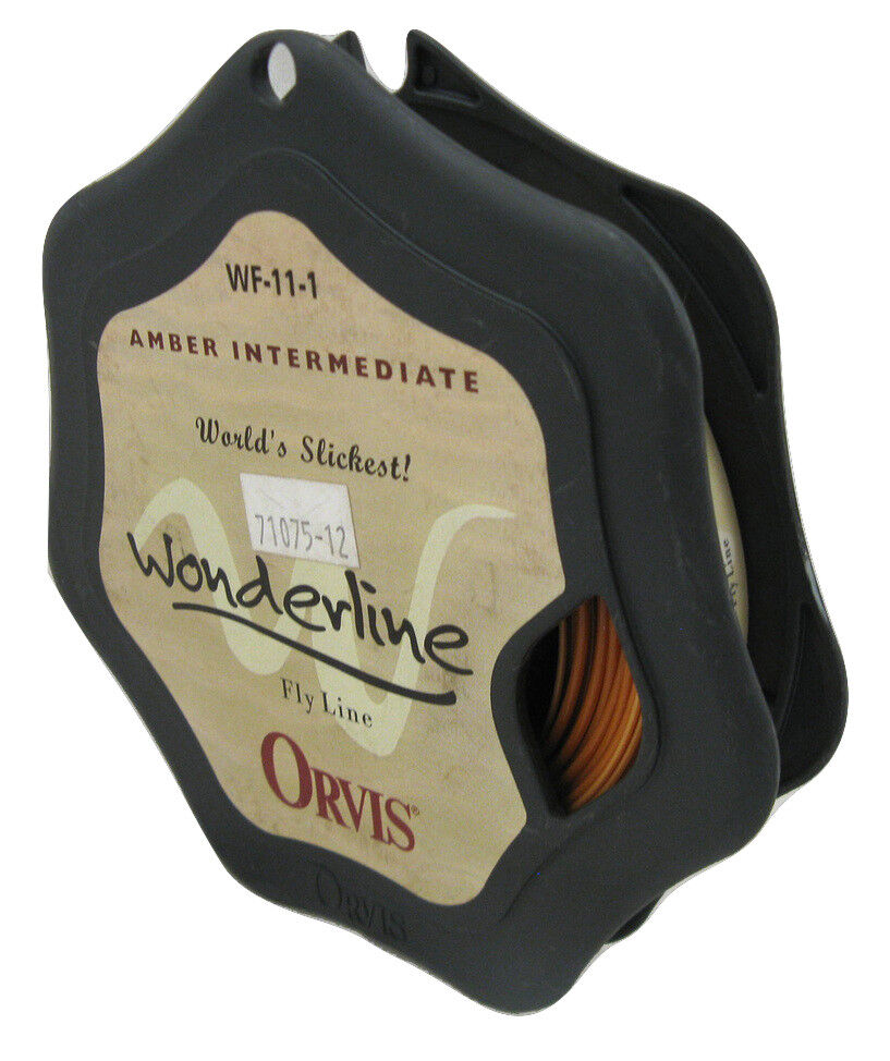 NEW  Orvis Amber Intermediate Wonderline Fly Line WF 11 I (WF11I)  (WF-11-I)