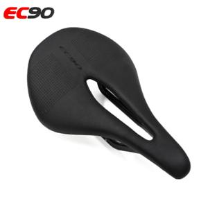 Heiß EC90 Carbon+Leder Fahrradsitz Sattel MTB Fahrradsattel Rennrad Sattel 125g