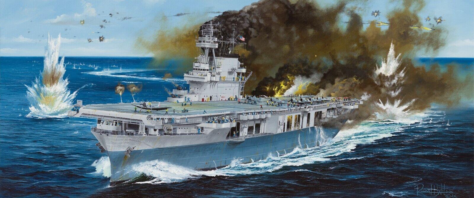 1 350 MERIT USS YORKTOWN CV-5 1942