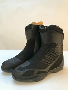 Spada-short-motorcycle-boots-icon-style-black-size-8-42
