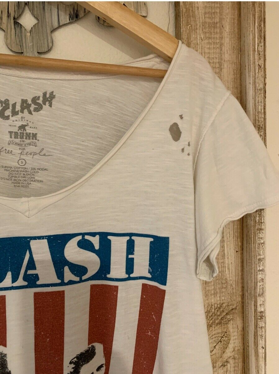 Free People X Trunk Itd The Clash T-Shirt Top SIz… - image 8