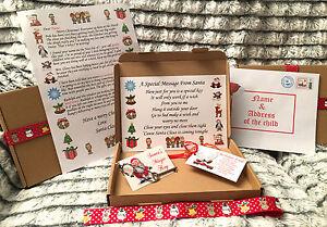Santa christmas eve a5 gift box personalised a4 letter magic key image is loading santa christmas eve a5 gift box personalised a4 spiritdancerdesigns Choice Image