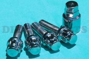 Mercedes-Wheel-Locking-Lug-Bolts-Nuts-C280-C350-CLK500-SLK350-SL500-C55-AMG