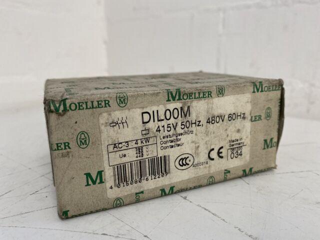 MOELLER DIL00M Contactor 415V 50Hz, 480V 60Hz