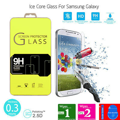 For Samsung Galaxy 100% Genuine Tempered Glass Film Screen Protector-New