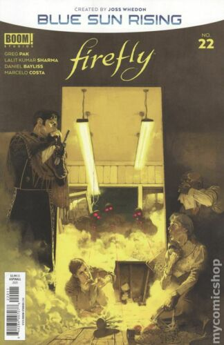 Firefly #22A Aspinall Variant VF 2020 Stock Image