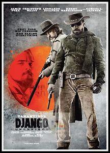 Django Unchained 2012 Movie Posters Classic Films Ebay