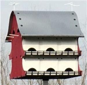 Grande Maison D'oiseau Famille 16 Violet Martin Barn-afficher Le Titre D'origine Vente En Ligne Du Dernier ModèLe En 2019 50%