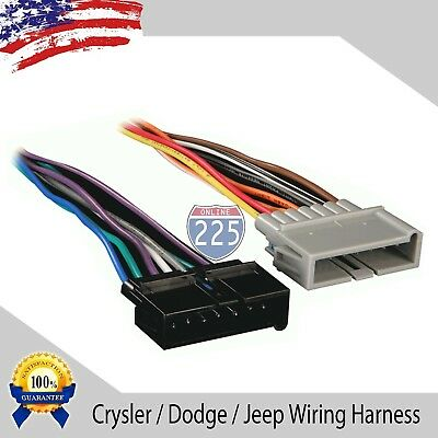 2005 dodge stratus radio wiring car stereo wiring harness for aftermarket radio chrysler dodge  car stereo wiring harness for