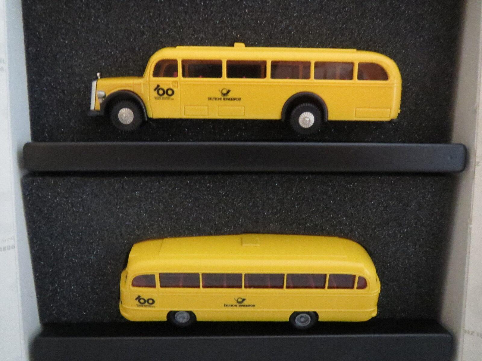 Brekina - - - 6840641500 - 100 ANS AUTOMOBILE DAIMLER BENZ 1886-1986, 1 87, top 0f1951