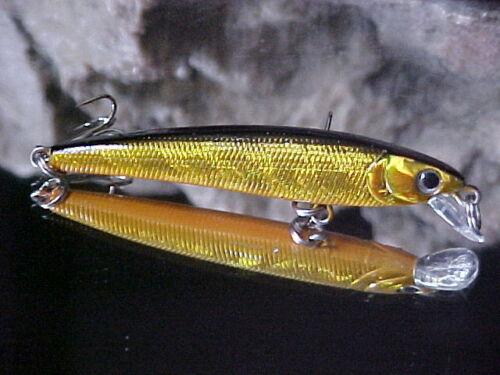 Matzuo Ultra Lite NANO Minnow 5//32oz NM5-BLACK//GOLD for Panfish//Trout//Crappie