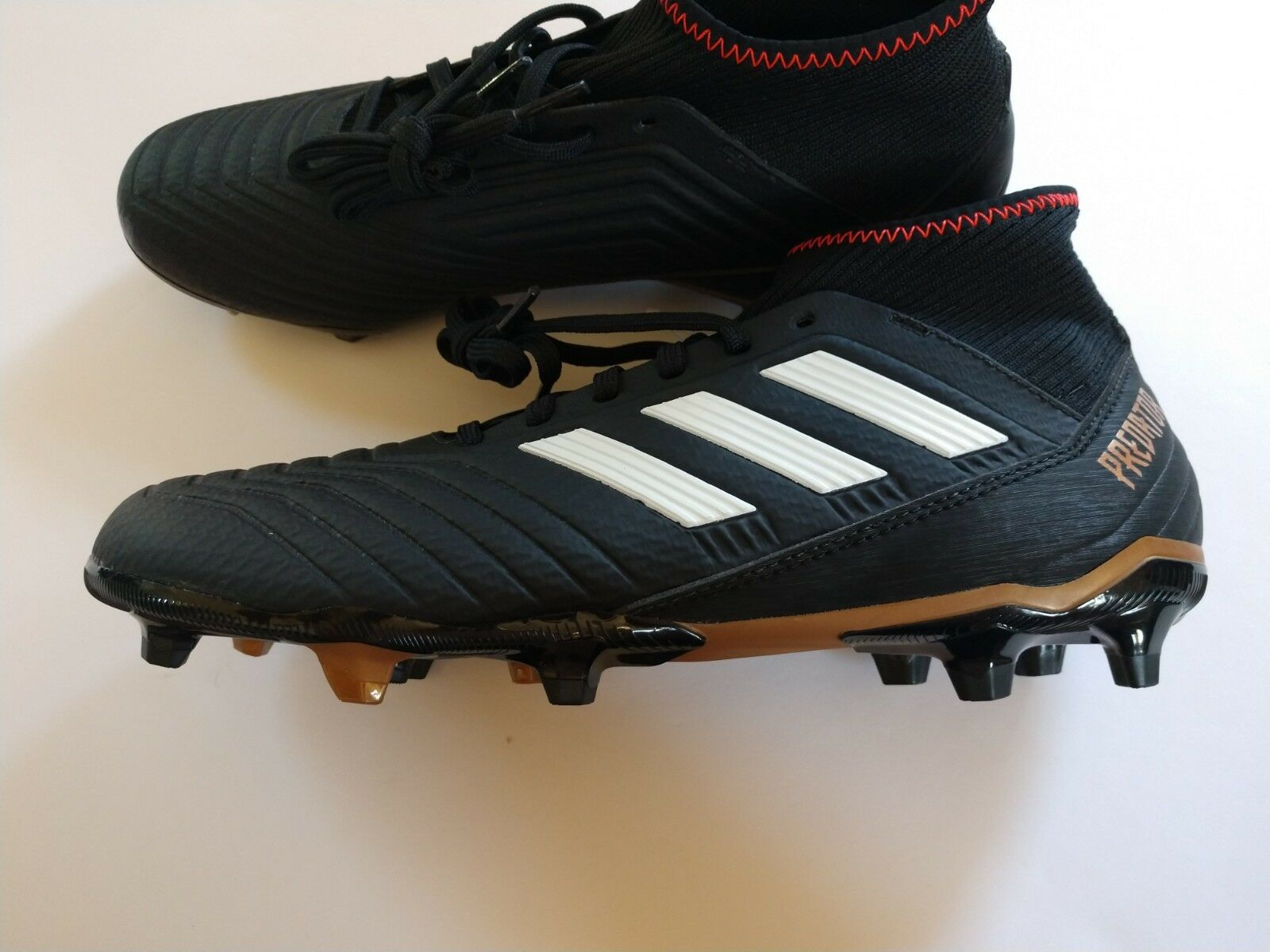 Adidas Predator 18.3 FG Men's 9.5 Black New Soccer Cleats Shoes CP9301 New Black 68b8ec