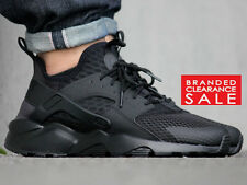 71bb3ef805a BNIB New Men Nike Air Huarache Run Ultra BR Trainer Triple Black White 9 10  11uk