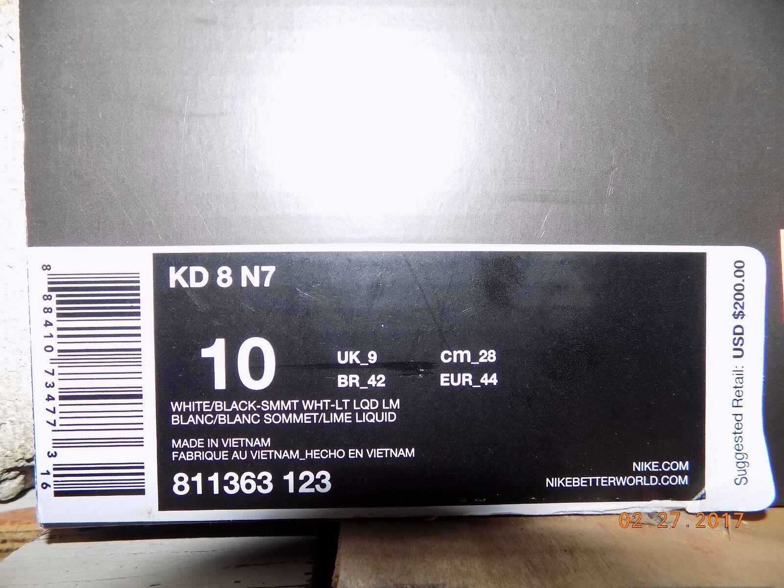 NIKE KD 8 N7 MEN NEW With BOX(no box top)!!