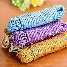 2PCS 10 M High Quality Nylon Outdoor Laundry Clothesline Rope For Drying Clothes