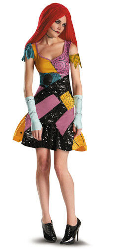 Womens A Nightmare Before Christmas Sally Glam Costume