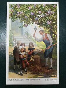 Andersen Der Tannenbaum.Details About P17 Cartolina Herrfurth Andersen Der Tannenbaum Serie 264 Nr 4515