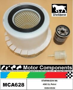 FILTER-SERVICE-KIT-for-MITSUBISHI-STARWAGON-WA-4G63-2L-Petrol-09-94-gt-05-04