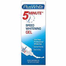 Plus White Premier 5 Minute Speed Teeth Whitening Gel 2 Oz