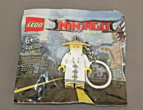 LEGO The Ninjago Movie Master Wu Keychain 5004915 Polybag Set