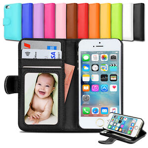 Premium-NEW-Wallet-Leather-Case-Stand-Cover-for-Apple-iPhone-5S-5C-5-SE