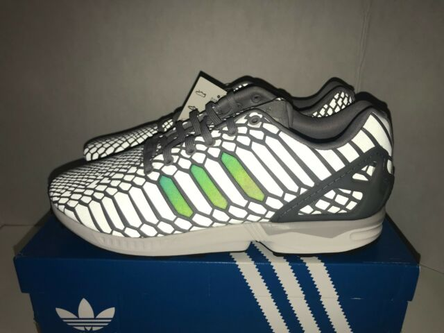 31c7c8427 adidas Mens ZX Flux Reflects Light See PICS Multiple Sizes B24442 11 ...