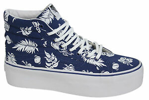 872fc286e8 Vans Off The Wall SK8 Hi Platform Authentic Unisex Lace Up High Tops