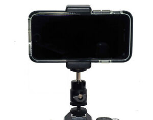 Smartphone Camera Viewfinder Kit Ballhead Clamp Hotshoe adapter Vlogging Kit