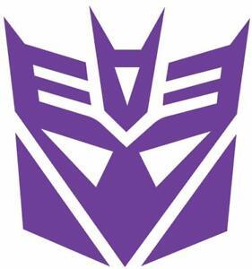1-034-23-034-TRANSFORMERS-DECEPTICON-VINYL-DECAL-Die-Cut-window-bumper-sticker